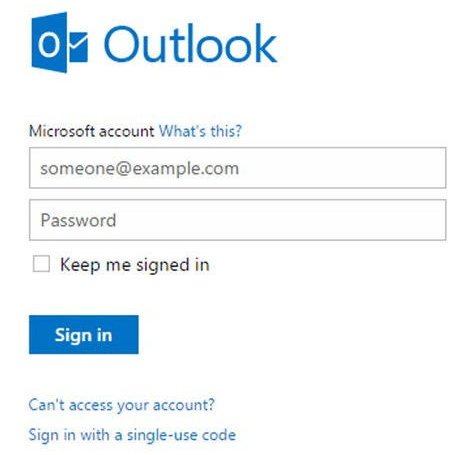 Recover Hotmail Account