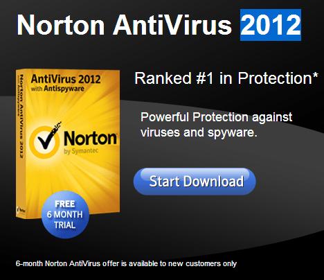 Download Norton antivirus 180 days free trial