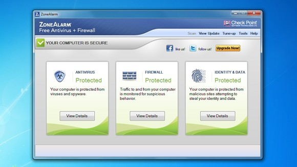 ZoneAlarm antivirus Free