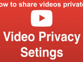 Share Videos Privately