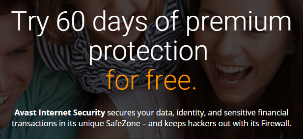 Avast Internet Security 60 Days Free Trial Download Promo