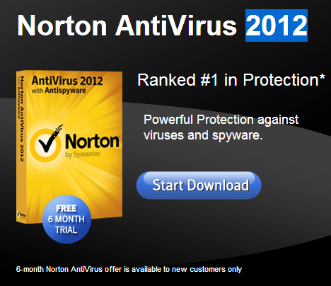 Download Norton antivirus 180 days free trial