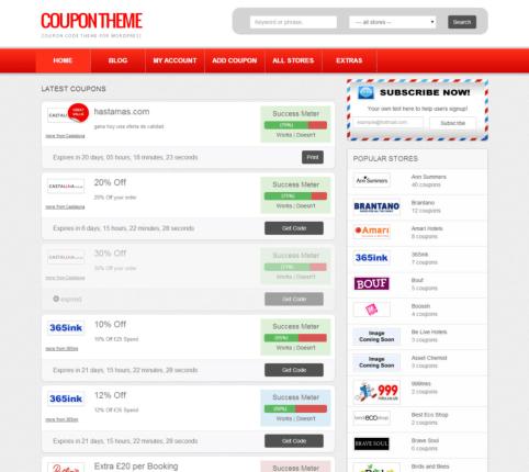 couponpress coupon theme for wordpress