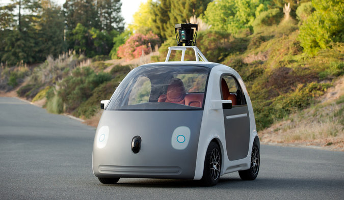 Google's new Driverless car