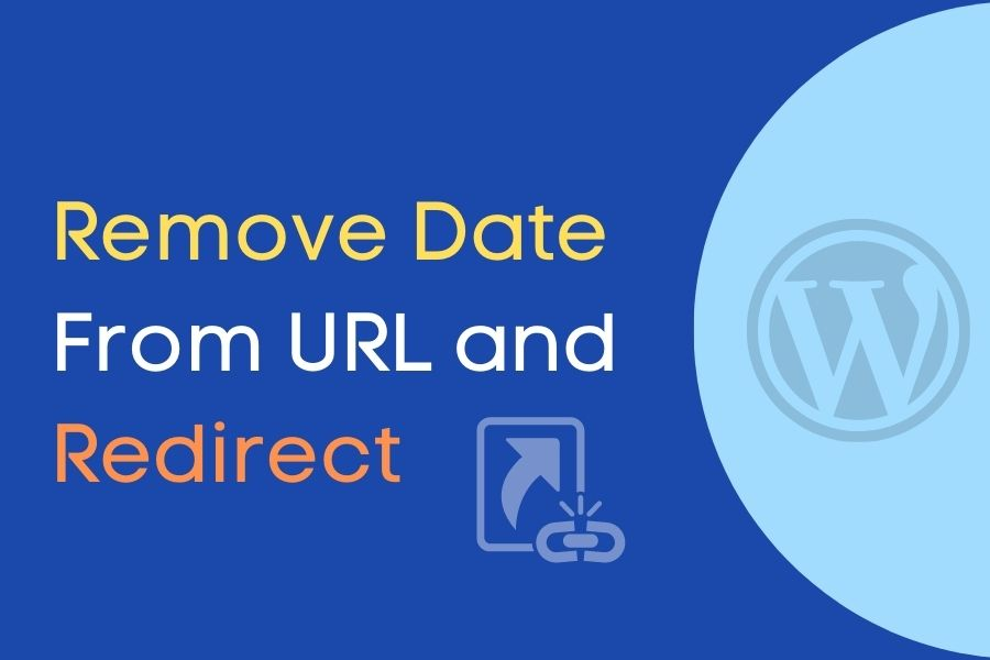 Remove Date and Redirect Permalink URL